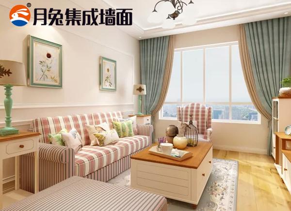 选择实力强劲的月兔集成墙面全屋整装,装修变得如此简单!